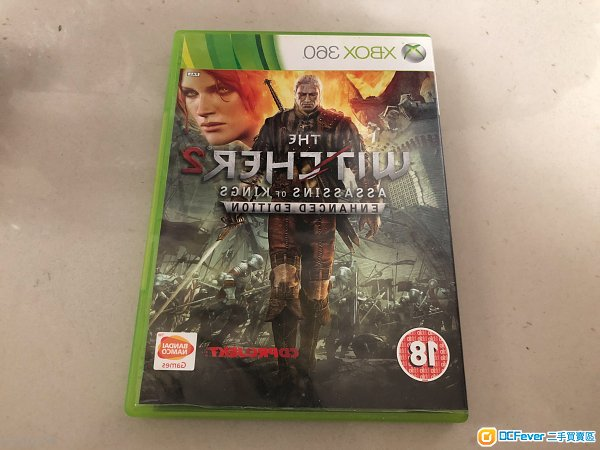 XBOX ONE THE WITCHER 2+3巫師