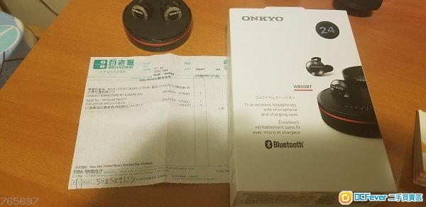 Onkyo bluetooth true wireless earphones W800BT