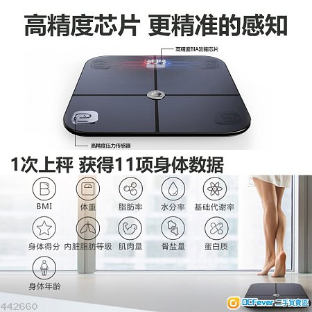 Huawei (華為) Smart Body Fat Scale - 95% New