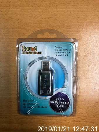 全新 USB SOUND CARD