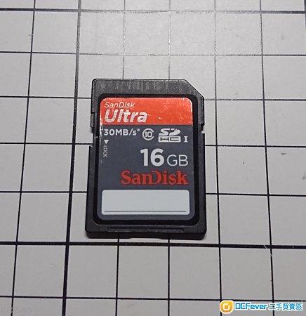 SanDisk Ultra SDHC Class 10 16GB SD card
