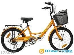 徵求 淑女單車/ 買餸單車 20寸有尾架自行車