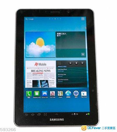 Samsung Galaxy Tab 7.7 GT-P6800 16GB可插咭上網打電話16GB Android 4.0.4平板連usb線
