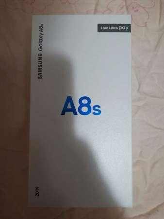 全新已開封Samsung Galaxy A8S 6+128GB幻綠黑行貨