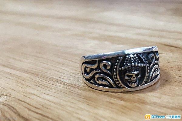型格純銀戒指