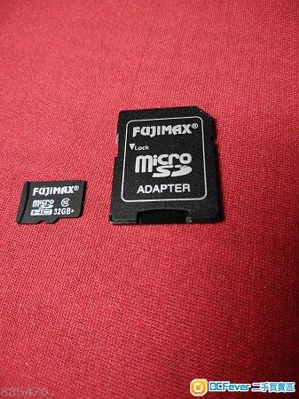 32GB Fujimax MicroSDHC卡 (有d問題)