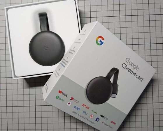 Google Chromecast 3 99%新 (Chrome Cast)