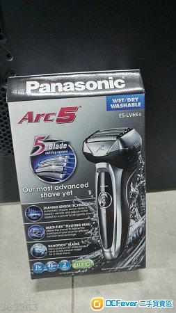 [全新/未開封] Panasonic Arc5 五刀頭電鬚刨  (ES-LV65-S)