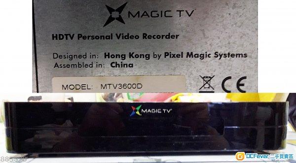 有問題高清機頂盒 MAGIC TV     **    MTV 3600D / MTV 3000