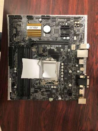 二手 ASUS B150M-A/M.2 B150 DDR4 USB3 LGA1151 MATX MB