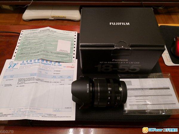 Fujinon XR 18 - 55 f2.8-4 行貨有保