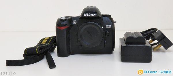 Nikon D70   CCD 機