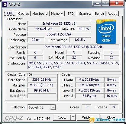 放E3 1230 V3 + ASUS H97 Pro Gamer + Crucial Ballistix Sport VLP 8GB x 2