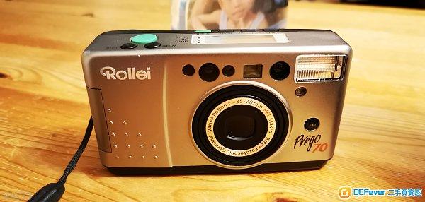 中古德國 ROLLEI Prego 70 (35-70mm  HFT鏡頭 )