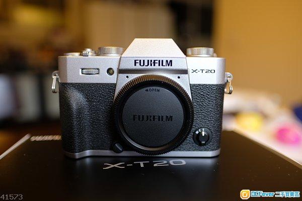 Fujifilm X-T20  Body Only~銀色 99%New