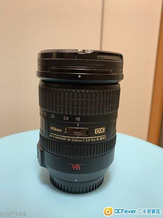 Nikon AF-S Nikkor 18-200mm 3.5-5.6G ED VR