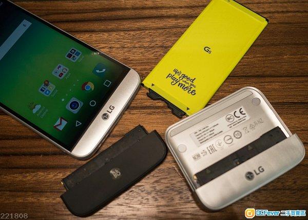 平售 LG G5 手機連 cam plus 相機模組及 Hi-Fi plus 模组