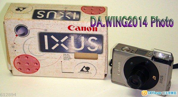 出售 Canon IXUS ADVANCED PHOTO SYSTEM  APS 數碼菲林相機一部