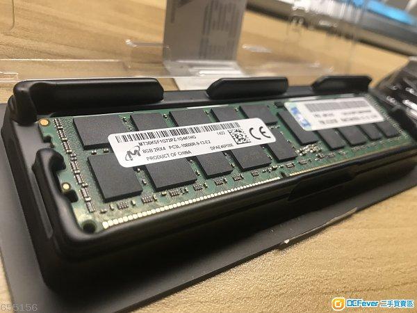 Samsung MICRON DDR3 8GB ECC RAM 全新