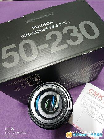 FUJINON XC50-230mmF4.5-6.7 OIS (黑色)