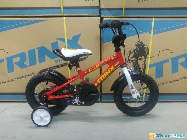 *附送泥擋*TRINX 12吋 兒童單車- BLUE ELF 1.0 (連輔助轆)