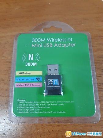 全新 usb wifi 300M