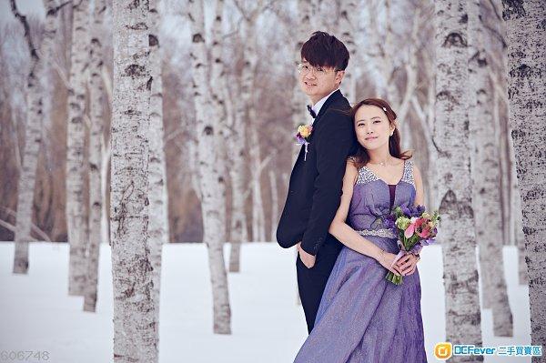 北海道 札幌 Pre-Wedding Package 日本人攝影師負責攝影 Hokkaido