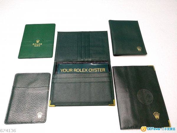 Rolex 勞力士 大小 咭片套 小册子 年曆咭