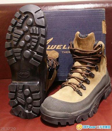 美國WELLCO啡色中筒山地靴(美碼10W/歐碼43.5)