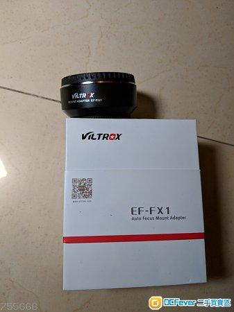 Viltrox Ef-FX1 95%new Fujifilm Canon