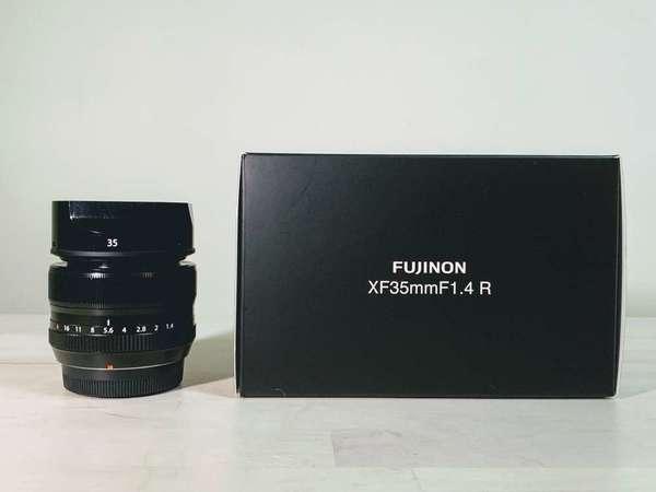 Fujifilm 35 1.4 99%