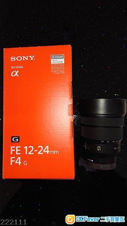 全新Sony輕便超廣角變焦鏡FE 12-24mm f/4 G Lens!
