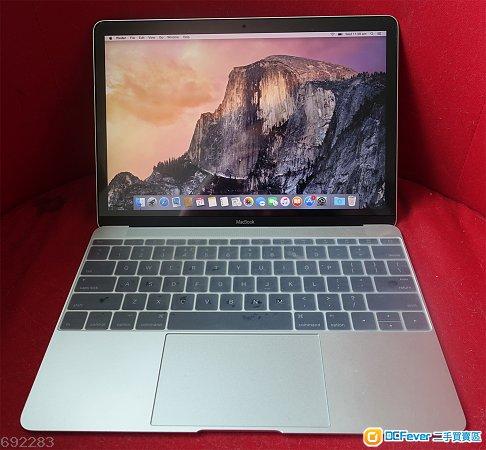 Apple Macbook 12 inch 2015, Space Gray