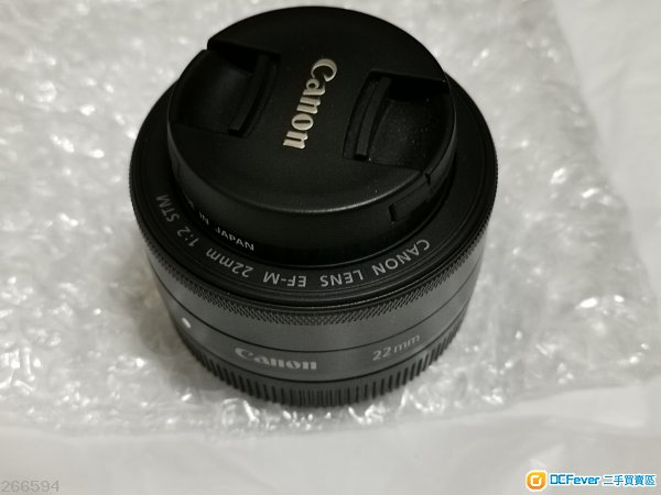 Canon 22mm F2 Stm EOS M