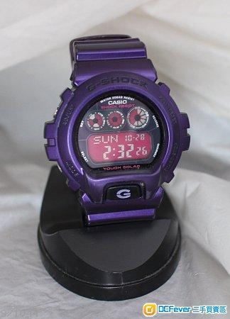 (勿議價)紫色光動能-CASIO G-SHOCK 。G-6900CC TOUCH SOLAR