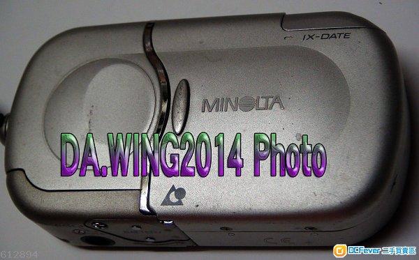 出售 MINOLTA ADVANCED PHOTO SYSTEM  VECTIS 2000 全自動 APS 菲林相機一部
