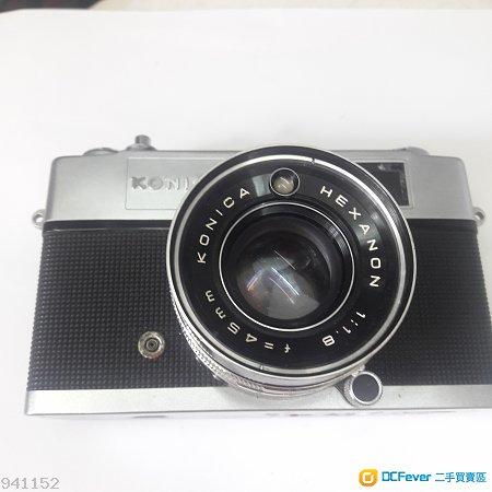 Konica Auto S2  旁軸相機  HEXANON 45mm 1.8