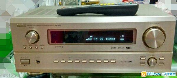 天龍DENON AVR-3802 7.1 AV AMP
