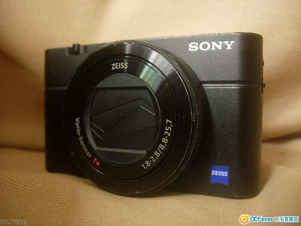 Sony  RX100m3  數碼相機 ( 可手動光圈 )