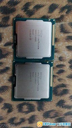 CPU i5-3470 & 4590 + RAM DDR3 1333/1600