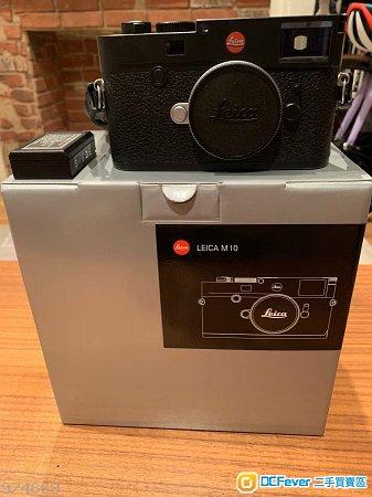 New Leica M10 Digital Rangefinder Camera (Black)