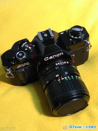 Canon av-1 連原廠35-70mm 3.5_4.5鏡頭 鏡片清冇霉冇花 全机冇甩柒油凹凸新诤