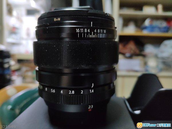 Fujifilm XF 23 F1.4 有盒