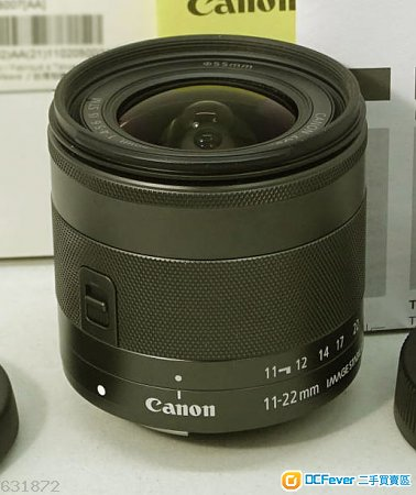 Canon EF-M 11-22 mm 97% new