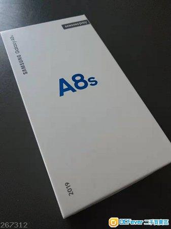 100% 全新灰黑色行貨Samsung Galaxy A8S一部
