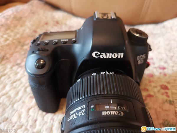 Canon EOS 6D body only 二手約八成新
