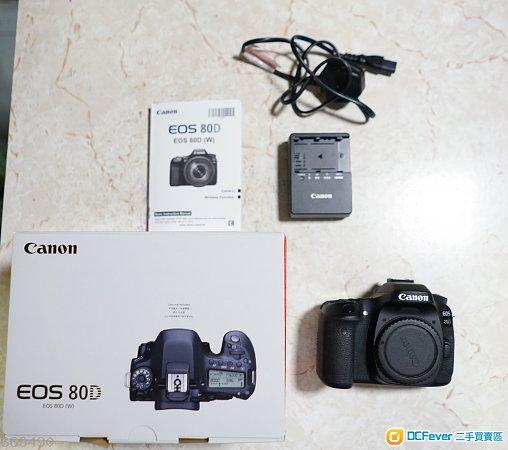 Canon 80D 9成新有盒