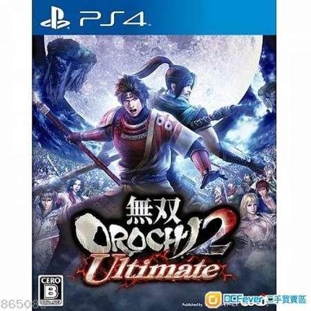 收PS4 FIFA19 中英文合版/無雙蛇魔2 大蛇2 Ultimate 2 中文版