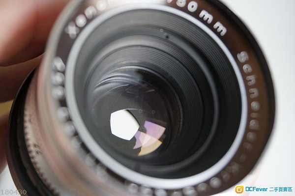 西德 Schneider 老鏡 菲林 Kreuznach Xenon 50mm 1.9 送 sony e-mount接環 A6500 A7I