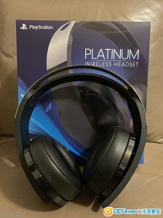 出售 95%新 PS4 Platinum Wireless Headset